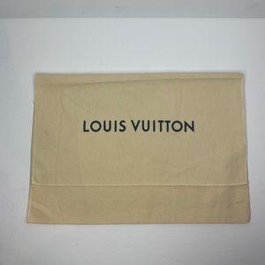 LOUIS VUITTON DUST BAG AUTHENTIC SMALL 10.5 x 14.5